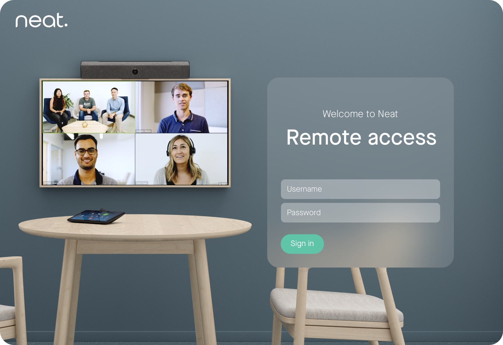 How to enable Remote access on Neat